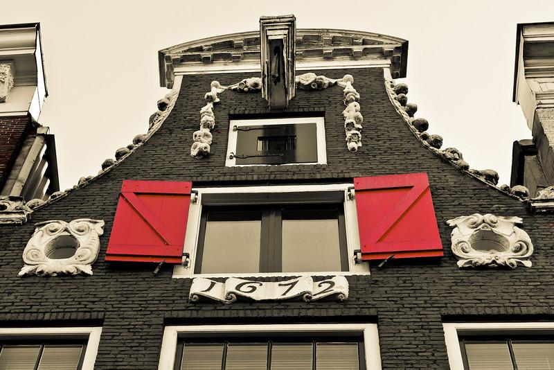Grachtenhaus Detail