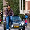 Bicyclist, Amsterdam