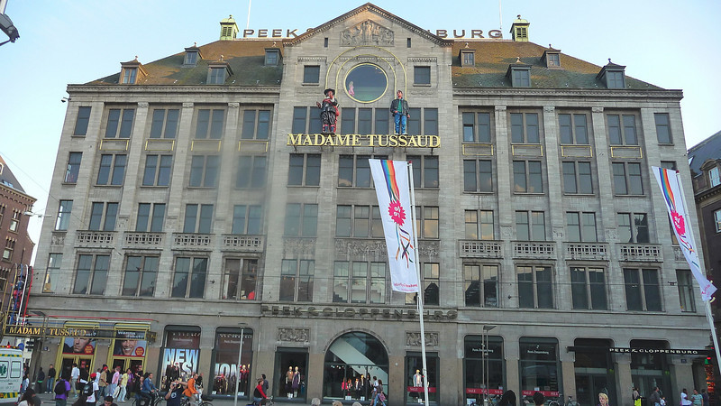 Madame Tussaud's in Dam Square, Amsteram