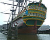 Replica Dutch East Indiaman 'Amsterdam' at Amstedam Maritime Museum