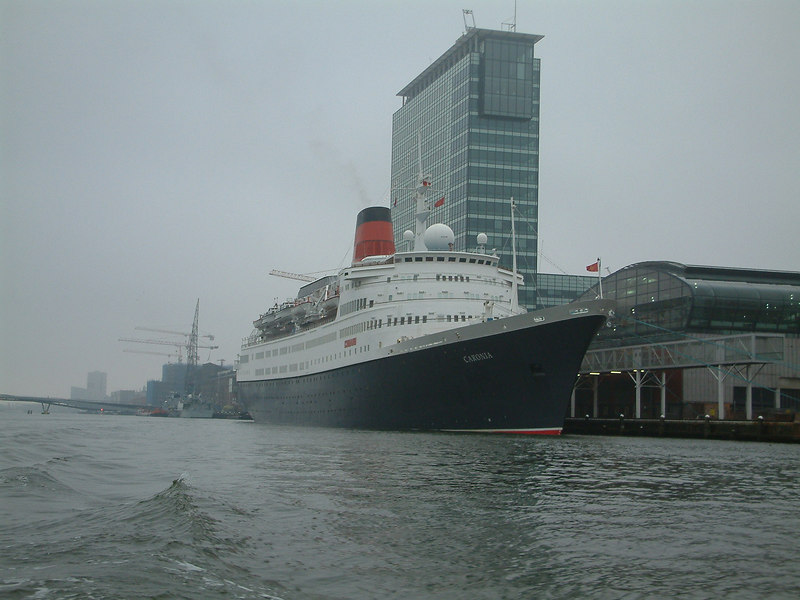 Cunard liner Caronia at Amsterdam, November 2003