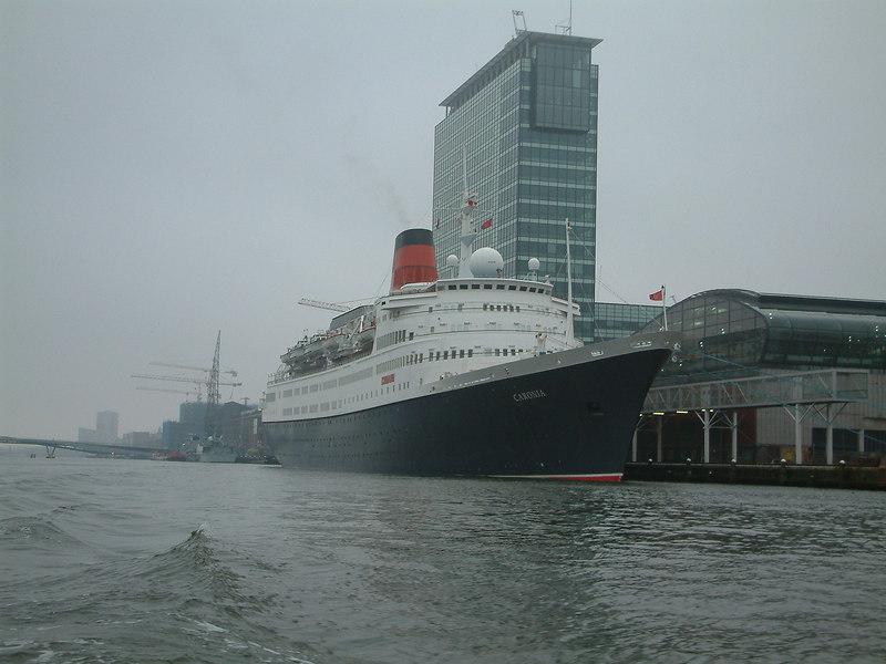 Cunard liner Caronia at Amsterdam, November 2003