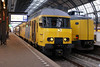 .... catch the 0802 Schiphol express from Platform 15B. Not a bad service for 0800 on a Sunday morning.