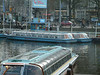 Canalboats at Amsterdam 2003