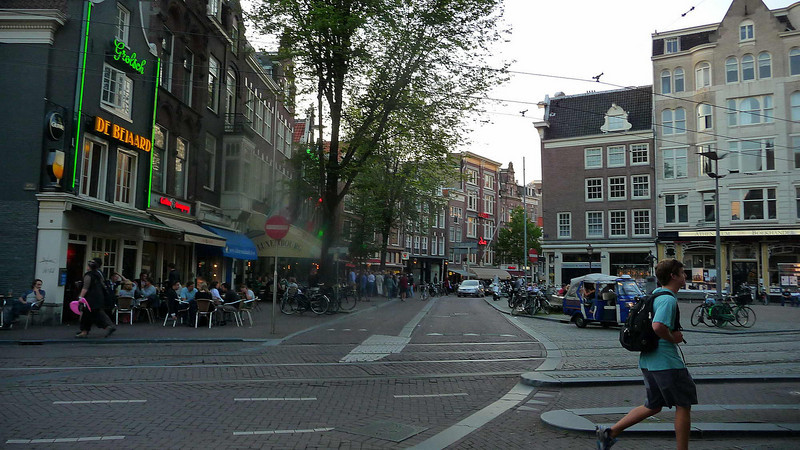 A summer evening in Amsterdam