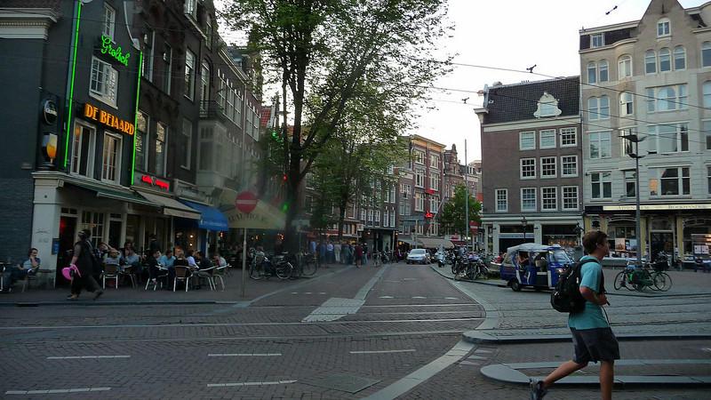 A summer evening in Amsterdam