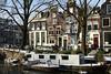 On Spiegelgracht canal, Amsterdam