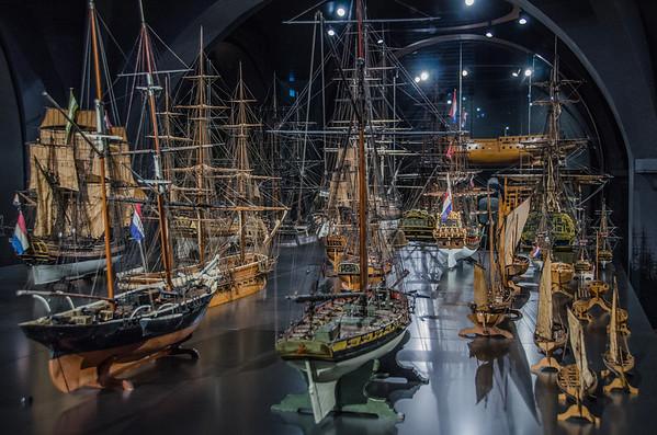 Rijksmuseum Amsterdam: Shipmodels