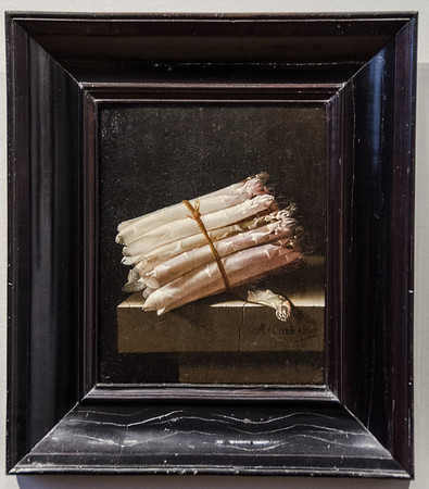 Rijksmuseum Amsterdam: Famous Stillife with Asparagus