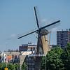 Rotterdam: Windmill near Harbour