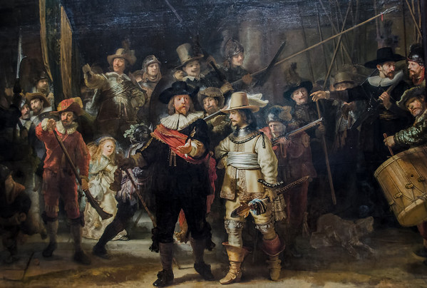 Rijksmuseum Amsterdam: Rembrandts famous Nightwatch