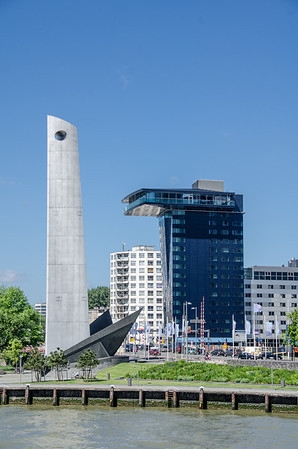 Rotterdam Harbour Monument for lost sailors (?)