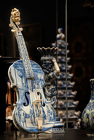 Rijksmuseum Amsterdam: Violine Made from China