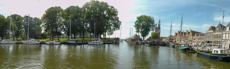 The harbor at Hoorn where Edie's ancestor lived before immigrating to New Amsterdam (New York) in the 1600's.