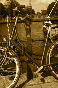 If you have ever been to Amsterdam you remember these! They are everywhere. When you walk all you hear is the ringing of the bells on the handlebars. I had nightmares where I could hear the bells and I could not figure out where they were coming from. And the locals delight in coming as close to you as possible with their bikes! Amsterdam, Netherlands.