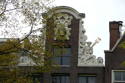 Gable with Statues