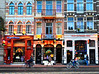 Holland to Argentina by bike.<br /> Dutch pancake restaurant to Argentinean steak house in Utrecht, Netherlands