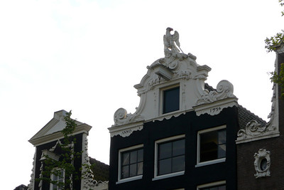 Gable with Eagle