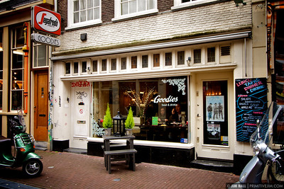 "My favorite meal in Amsterdam came from this little sandwich shop. ""Goodies"""