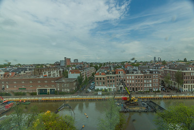 View from hotel room overlooking Canal
