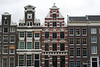 Amsterdam old city skyline