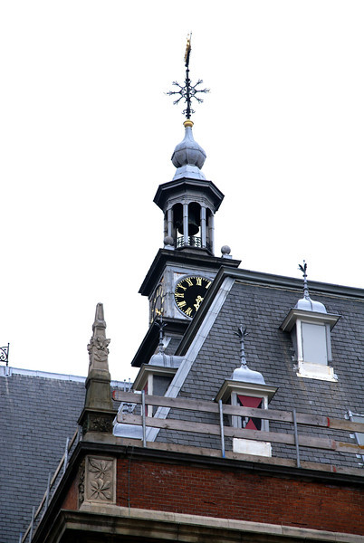 Clock and tower.
