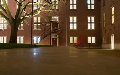 Hermitage Amsterdam courtyard