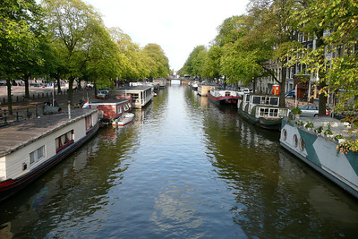 Houseboats on Princengracht