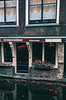 Canal boat tour of Amsterdam, 1973