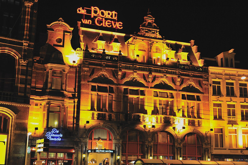 Hotel die Port van Cleve, Amsterdam