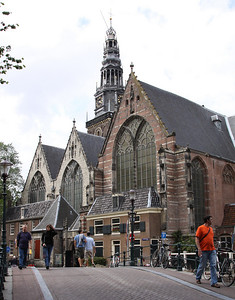 Oude Kerk - church built in the 14th century.