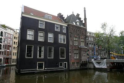 Houses on Oudezijds Voorburgwal