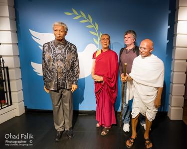 Amsterdam Yaniv preArmy Trip Madam Tuso Wax Museum