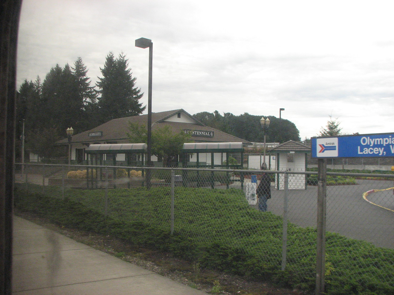 The station at Olympia-Lacey. Thanks to all who contributed to the building and support of this station.