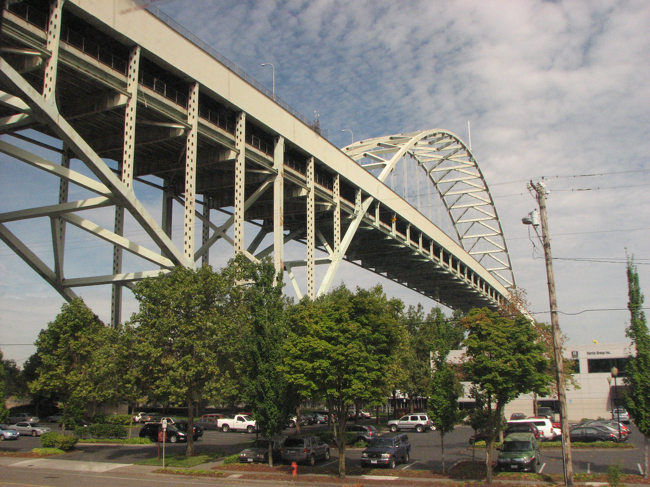 Bridge over the Willamette just west of the Portland Station.