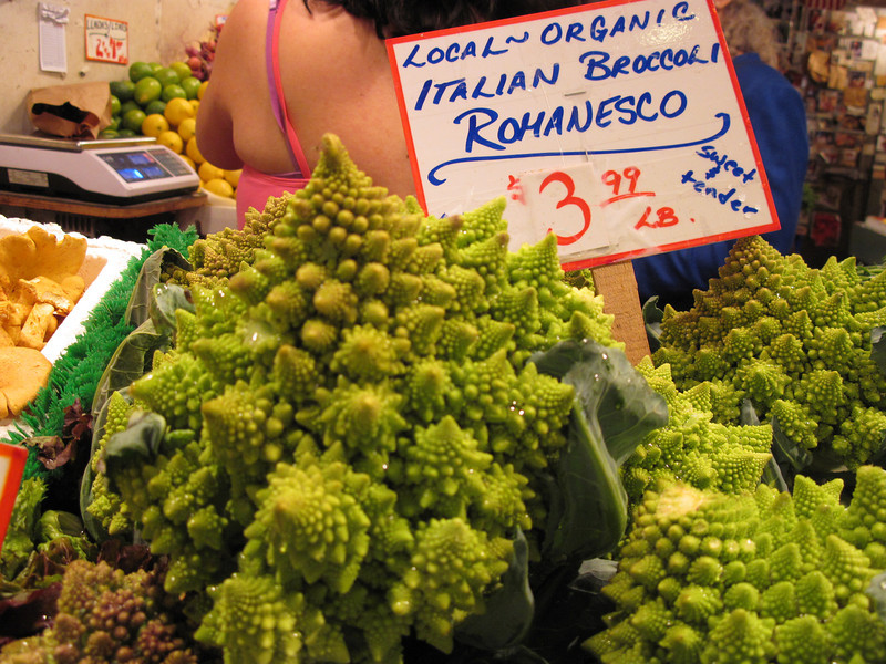 Produce at the Pike Place