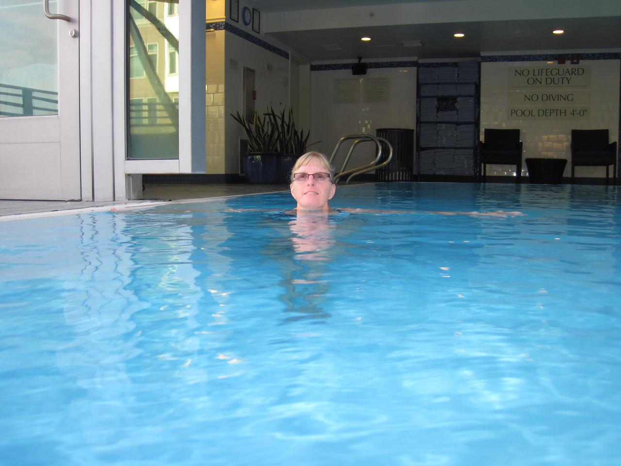 Afternoon Dip in the Pool.