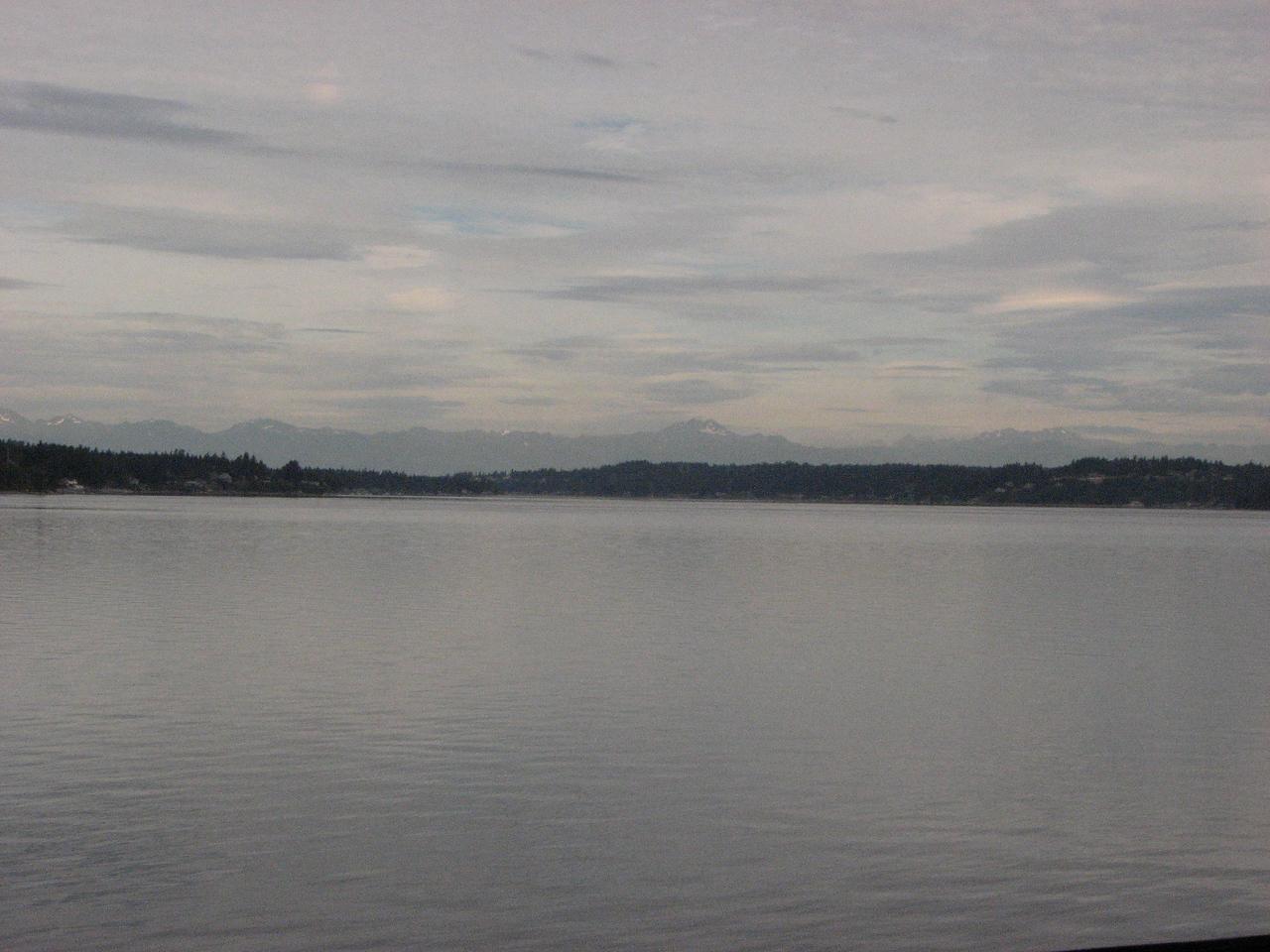 Riding along South Puget Sound