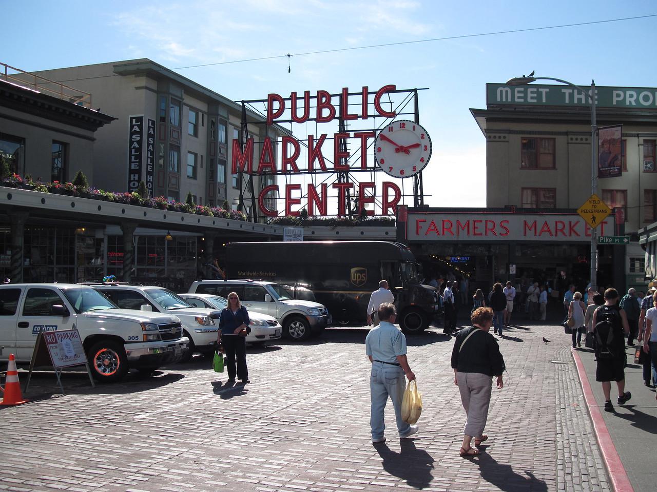 Main Market Entrance