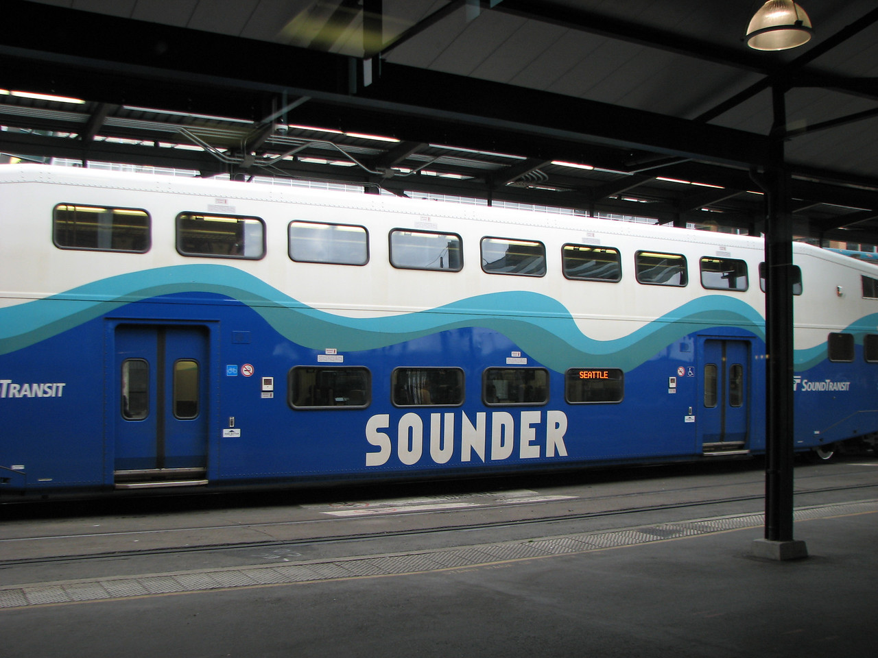 Seattle Commuter railcar.