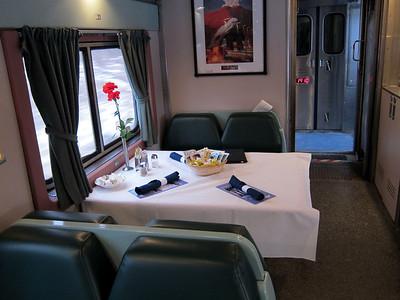 Amtrak Cresent  Dining Car