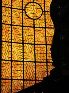 Stained glass near Napolean's Tomb