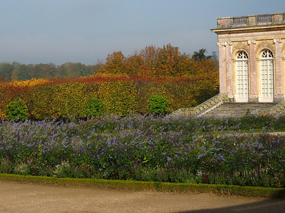 Autumn is colorful in the Gardens of the Grand Trianon