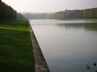 North arm of the Grand Canal, near the Trianon Palaces.
