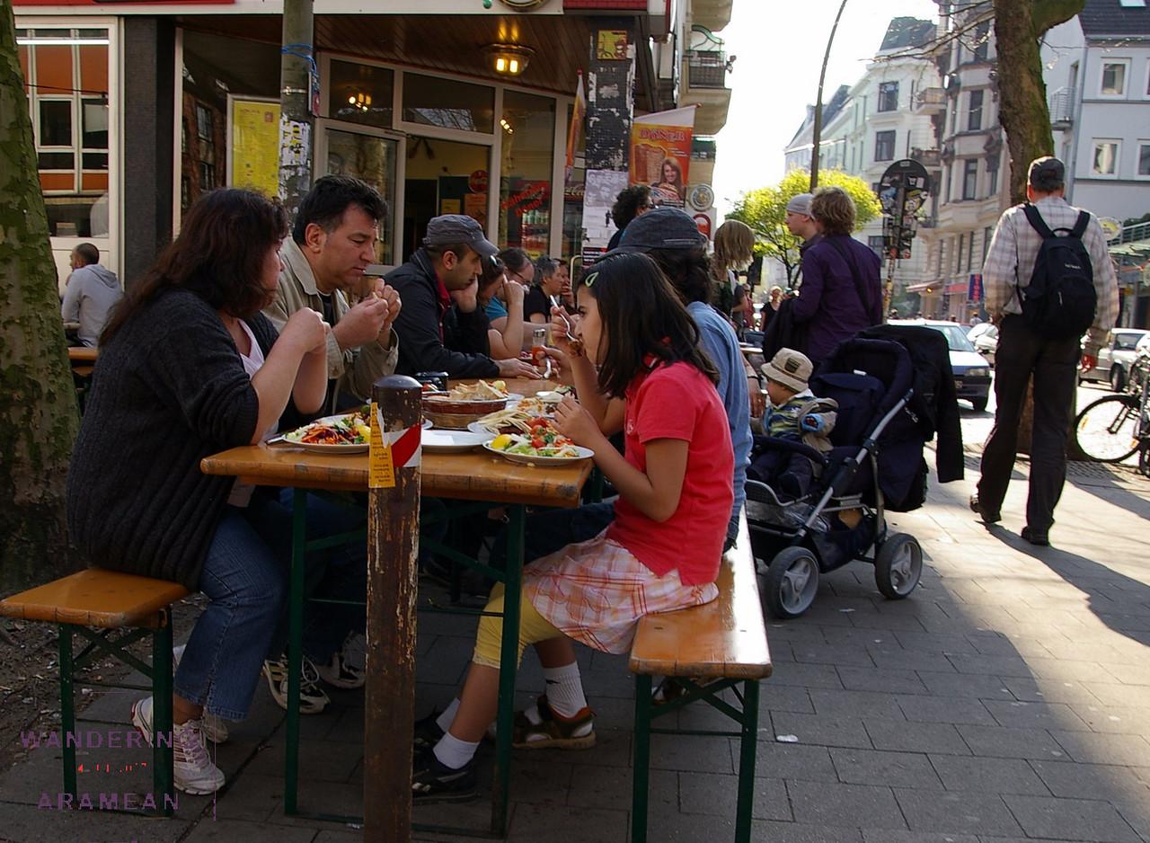 Dining in Schanzenviertel
