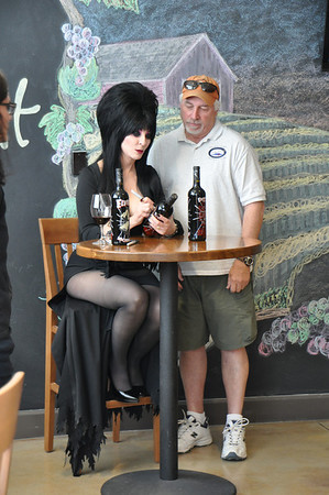 An Elvira after Thanksgiving wine signing