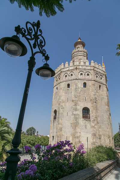 The tower of gold in Seville