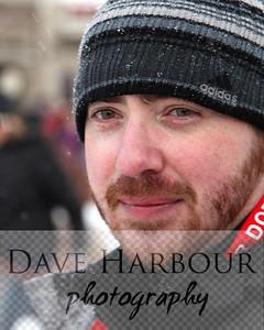 Chris Michael, 3-3-12, Rondy, 4th Avenue, Anchorage, Alaska, Photo by Dave Harbour