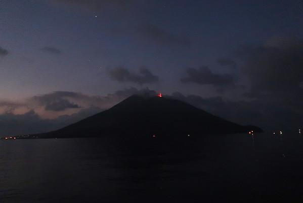 Stromboli erupting 2 sm