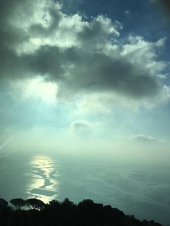 Water reflection near Positano sm